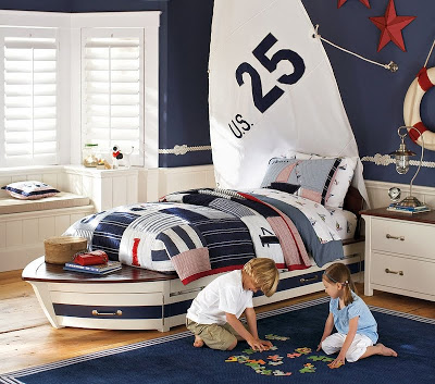 Pottery Barn Kids Speedboat Bed Amp Trundle Copy Cat Chic