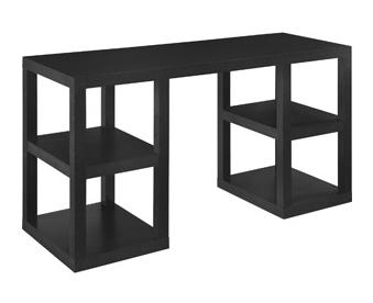 West elm 2 x 2 console desk copy cat chic - West elm parsons console ...