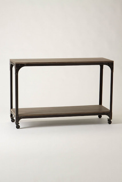 Anthropologie Decker Console Table Copycatchic