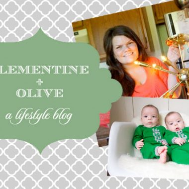 Chic Chick Home Tour: Erin – Clementine + Olive