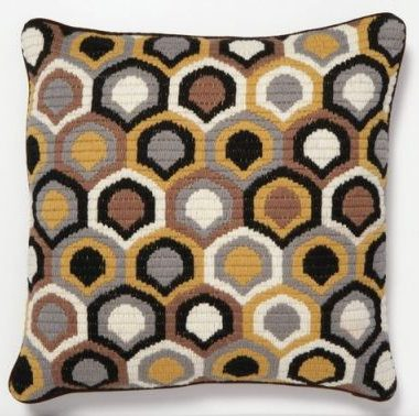 Clayton Gray Trina Turk Geo Bargello Pillow