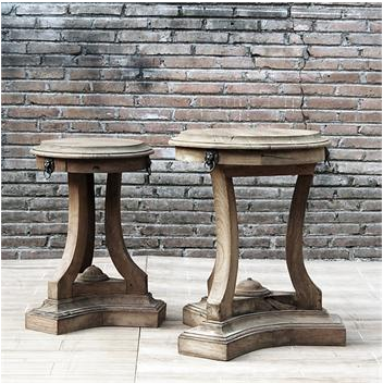 Restoration Hardware 18th C Lion S Head Side Tables