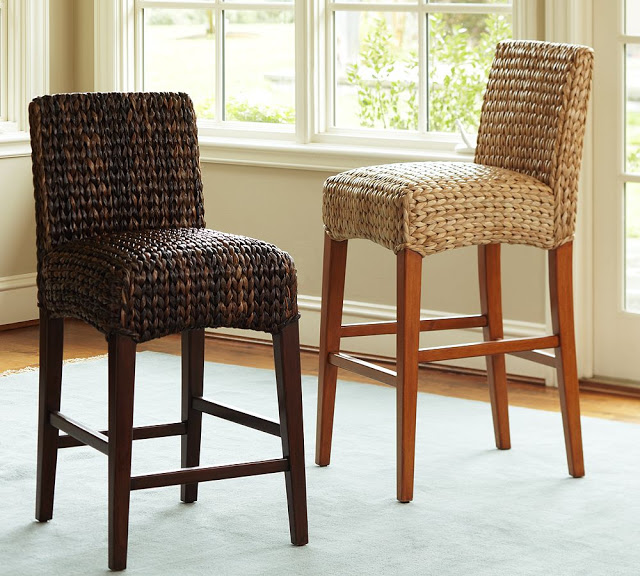 Pottery Barn Seagrass Barstool Copy Cat Chic