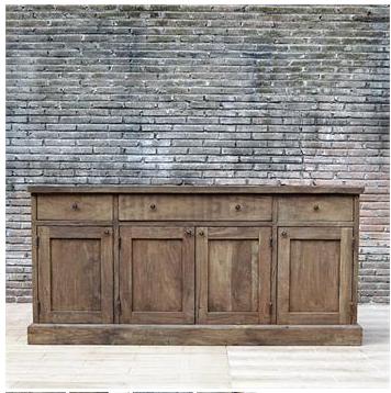 Restoration Hardware's Salvaged Wood Sideboard = $2,695