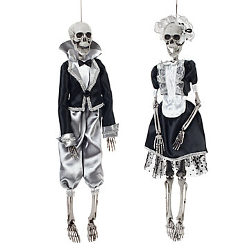 Z Gallerie Gothic Maid and Butler