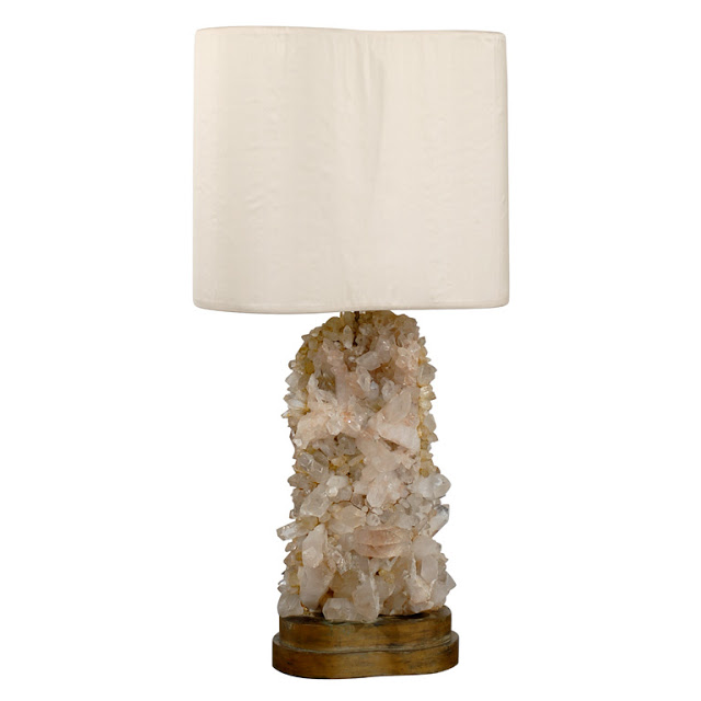 1st Dibs Rock Crystal Lamp Copy Cat Chic