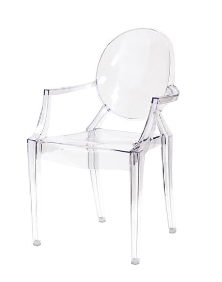 Amazonu0027s Louis Ghost Chair U003d $70.19