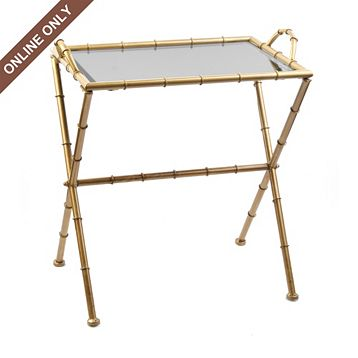 Kirklandu0027s Ivory Tray Table U003d $49.99