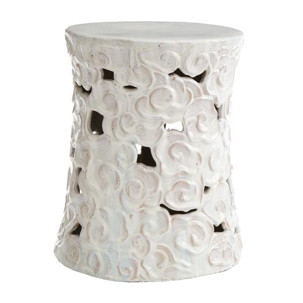 Amazing Wisteria Ceramic Cumulus Stool U003d $279