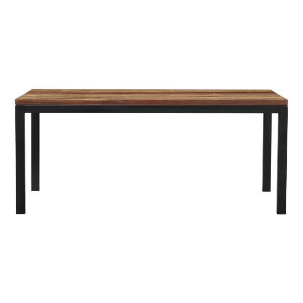 Crate And Barrel Parsons Reclaimed Wood Top Dining Table
