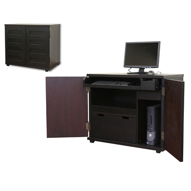 Crate And Barrel Incognito Ebony Compact Office
