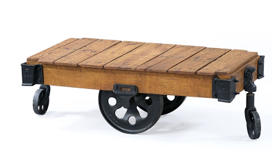 Attirant Restoration Hardware Furniture Factory Cart | Part 2