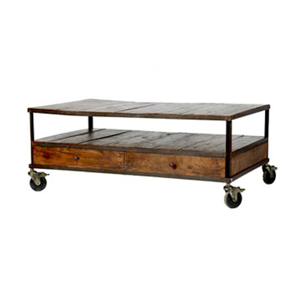 Wisteria French Industrial Coffee Table Copy Cat Chic