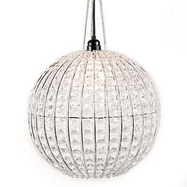 Horchow Crystal Ball Pendant Copy Cat Chic