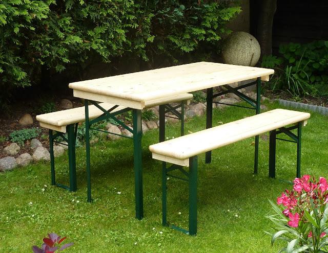 Pottery Barn Tavern Folding Dining Table Bench Set Copycatchic - Pottery barn picnic table