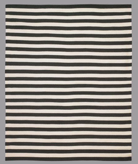 dwell studio draper stripe ink rug copy cat chic