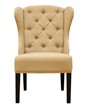 Arhaus Greyson Natural Linen Chair