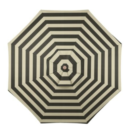 Ballard Design Canopy Striped Outdoor Umbrella Copycatchic