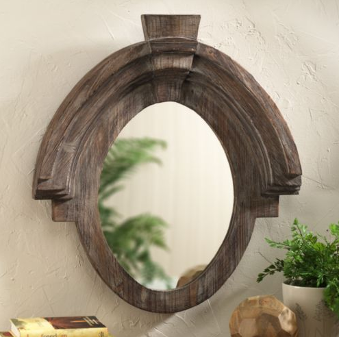 Restoration hardware mansard mirror copycatchic for Restoration hardware round mirror