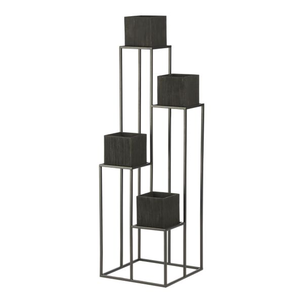 Crate And Barrel Quadrant Plant Stand Copy Cat Chic