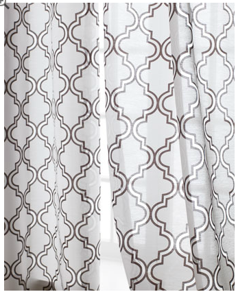 Horchow Ambrosia Sheer Curtains
