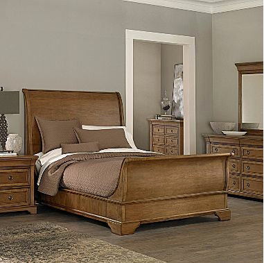 Beautiful JC Penney us Providence Sleigh Bed king ud