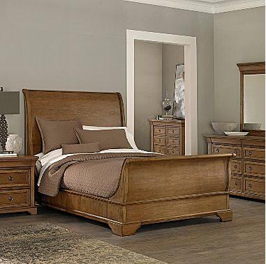 jc providence sleigh bed king u003d - Restoration Hardware Bedroom Furniture