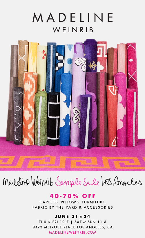 Madeline Weinrib Sample Sale - copycatchic