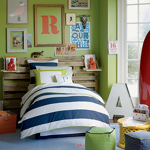 stripe twin bedding - bedding | bed linen