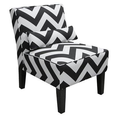 Z Gallerie Bailey Chevron Accent Chair