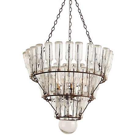 Anthropologie soda jerk chandelier copycatchic terrains message bottle chandelier 951 16 aloadofball Images