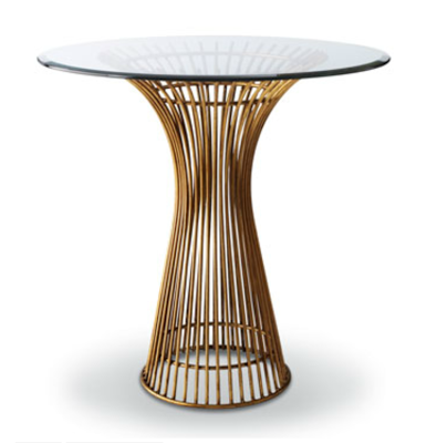 Horchow Brass Side Table