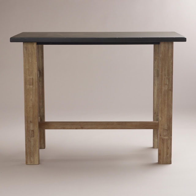 Crate And Barrel District High Dining Table Copy Cat Chic