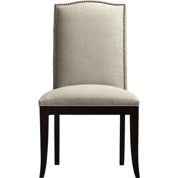 Crate and barrel colette side chair copy cat chic - Crate and barrel parsons chair ...