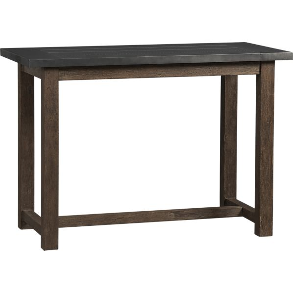 Perfect Crate and Barrel District High Dining Table