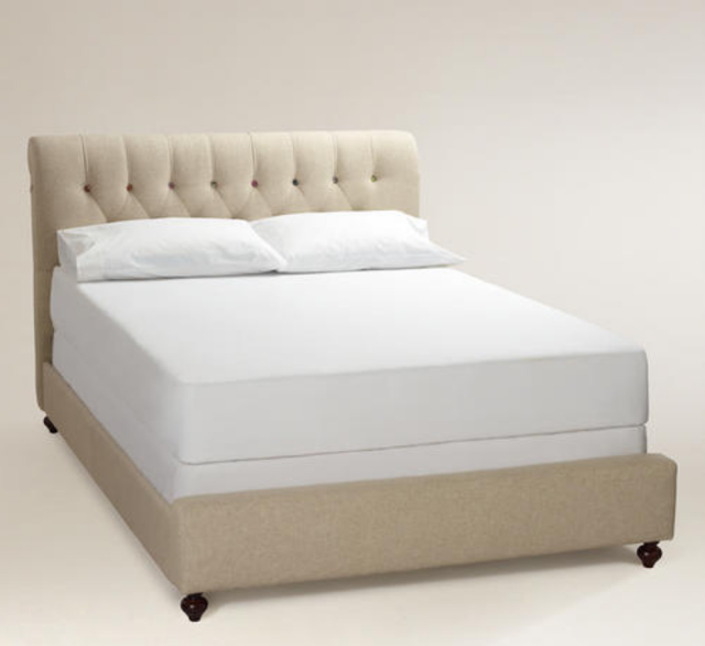Restoration Hardware Chesterfield Upholstered Bed Copy
