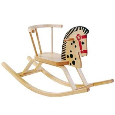 Baltic Wooden Rocking Horse