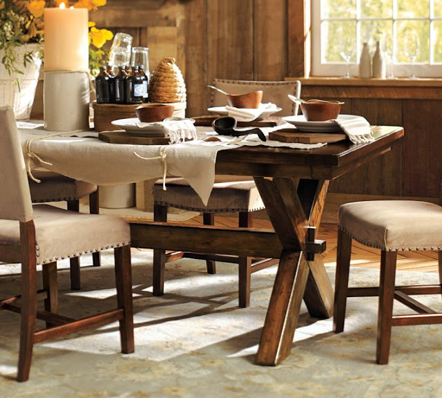 pier one round dining room tables pottery barn extending rectangular table canada 1 and chairs