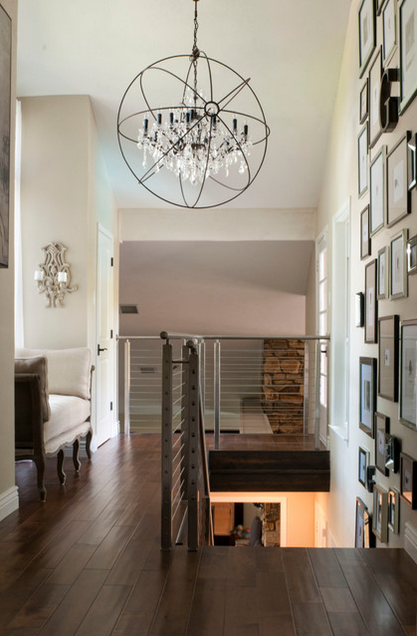 Restoration Hardware Foucault's Orb Crystal Iron Chandelier - Restoration Hardware Foucault's Orb Crystal Iron Chandelier