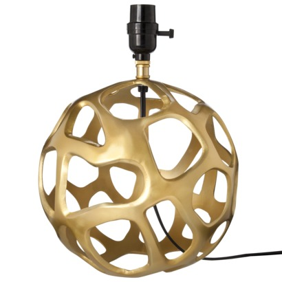 Target Gold Lamp Base