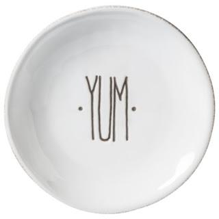 THRESHOLD YUM DESSERT PLATES