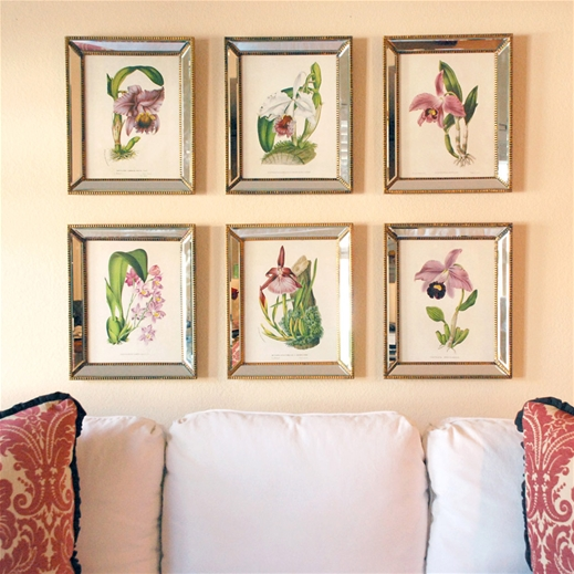 LAYLA GRACE ORCHID WALL PRINTS