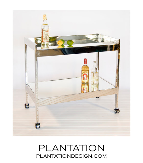 PLANTATION DESIGN RAYMOND BAR CART