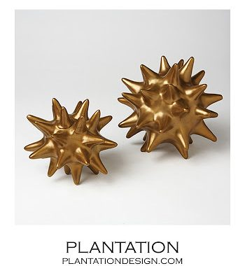 Plantation Spiky Deco Spheres
