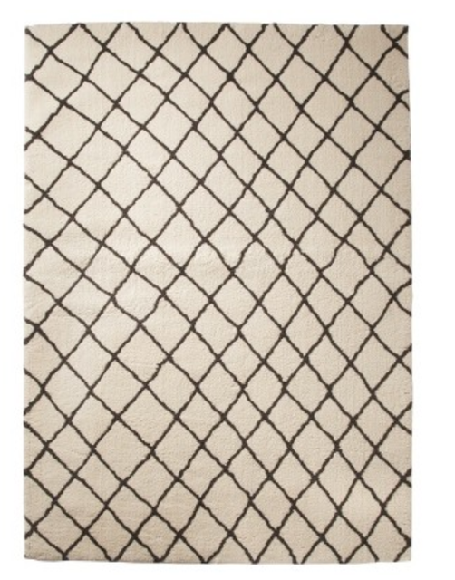 TARGET THRESHOLD CRISS CROSS FLEECE RUG 7X10