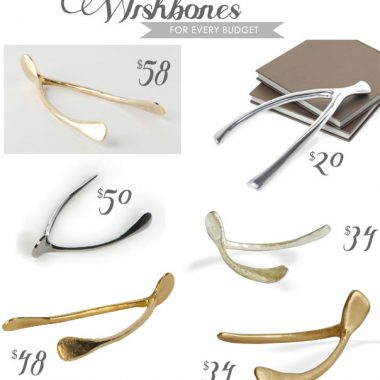 Wishbones for Thanksgiving