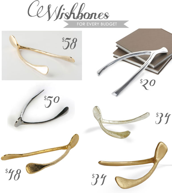 High Street Market Large Wishbone 34 Anthropologie Colossal Golden 58 50 Wishes Wish Jayson Home Gold 48