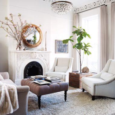Room Redo: Keri Russell's Brownstone Living Room
