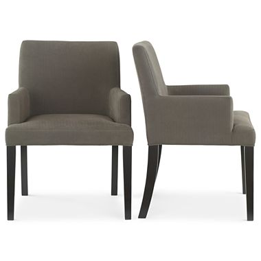 JCPENNEY'S STUDIO TRIBECA ARM CHAIRS