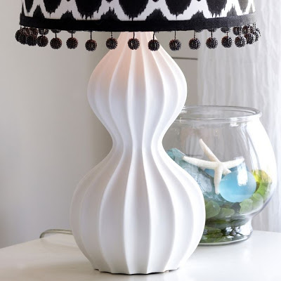 POTTERY BARN TEAN MOD LAMP BASE